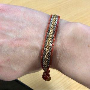 Stella and Dot Red Foundation Bracelet, Retired!